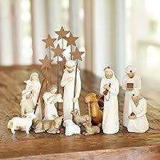 willow tree nativity set 7 includes 6 figurines