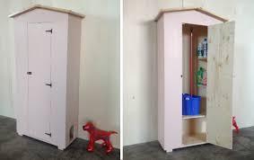 armadi in legno per esterni armadio in legno da esterno cod 03 con cuccia per cani o gatti