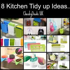 kitchen tidy ideas kitchen sink tidy up idea