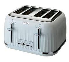 Breville 4 Slice Smart Toaster Breville Impressions Vtt470 4 Slice Toaster White Impressions