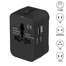 Travel adapter xcords worldwide all in one universal