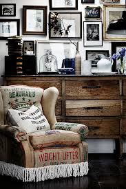 country style via homelife vintage rustic industrial modern