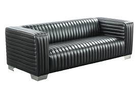 sofa kunstleder 3 sitzer lounge sofa kunstleder schwarz 222x90x72cm