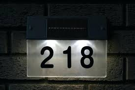 house number light box house number light new solar operated house sign light launched