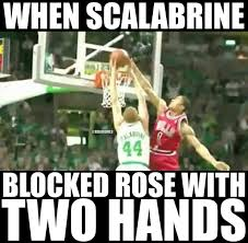 Brian Scalabrine Meme - nba memes on twitter brian scalabrine vs derrick rose credit