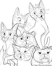 tica cat coloring book page 6 by kiki doodle on deviantart