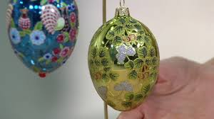 joan rivers 2017 set of 4 russian inspired egg ornaments on qvc