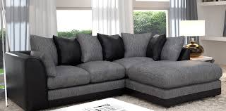 Grey Sectional Sofas Gray And Black Gorgeous Grey Sectional Sofas With Sectional