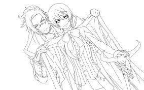 lineart alois and claude by piko chan4ever on deviantart