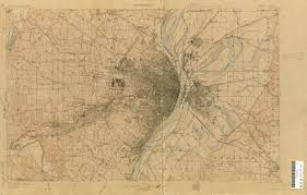 Map St Louis 1903 Topographical Map Of St Louis Metro Stlouis