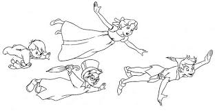 peter pan coloring pages google kid book exchange party