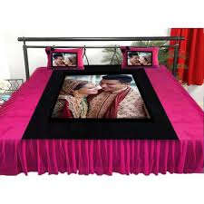 Make Your Own Bedding Set Wonderful Buy Or Send Personalized Velvet Bed Sheet With Pillow