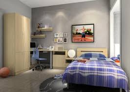 Simple Bedroom Design For Guys Simple Bedroom For Boys