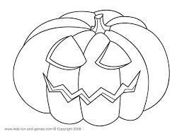 halloween coloring pumpkin free kids