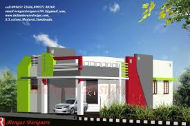 front elevation of duplex house in trends 1500 square fit latest