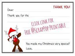 christmas thank you cards christmas thank you cards printables
