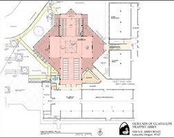 catholic church floor plan designs trappist abbey