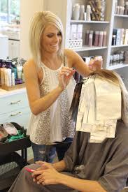 blonde faith hair salon before u0026 after highlight dani austin