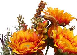 admiredbynature 14 artifical pumpkins sunflowers berries leaves