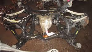 2005 Porsche Cayenne Turbo - complete rear end suspension axle differential 4 5l porsche