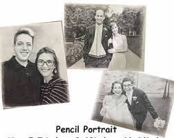 custom pencil portrait pencil sketch portrait custom pencil