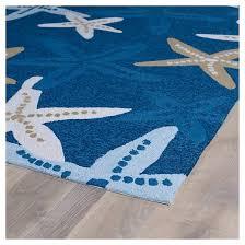 Indoor Outdoor Area Rugs Kaleen Rugs Matira Starfish Indoor Outdoor Area Rug Blue 2 U0027x3