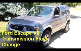 Ford Escape Body Styles - 2001 2007 ford escape v6 transmission fluid change cd4e