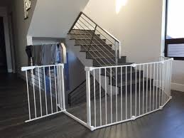 Best Stair Gate For Banisters Best Safety Gates For Stairs Security Fabulous Home Ideas