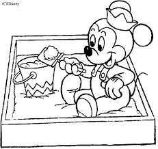 baby mickey mouse coloring pages coloring baby mickey mouse picture