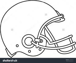 how to draw a football helmet dragoart best helmet 2017