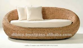 indoor rattan sofa indoor oval sofa by rattan wood water hya cinth and price buy