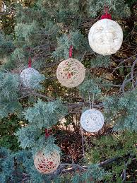 diy string christmas ornaments hgtv