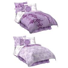 Purple Girls Bedding by Purple Girls Comforter Bedding Set In Twin Or Full Sizes