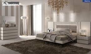 Bedroom Collections In White Marina Bedroom Set In Off White Lacquer Free Shipping Get