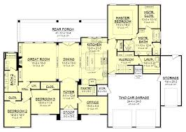 Ranch House Plans With Open Concept Cypress Pointe House Plan French House Plans French Houses And
