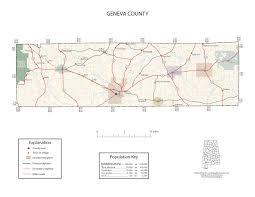 Geneva Map Maps Of Geneva County