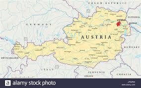 Slovakia Map Vienna Austria Danube Map Atlas Map Of The World Travel