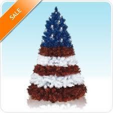 july 4th artificial trees on sale at treetopia for independence