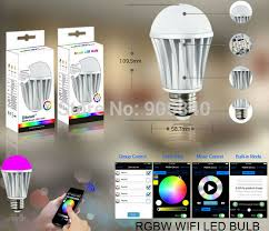 smart home light bulbs wifi led bulb 7 5w rgb white dimmablel smart home for ios android