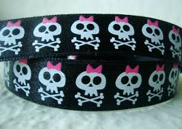 skull ribbon 30 best skulls ribbons images on ribbons and