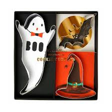 spooky set of cookie cutters by little baby company
