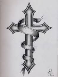 25 brilliant cross tattoos for men