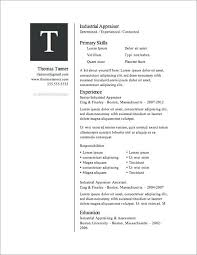 resume template for wordpad resume resume template free in word