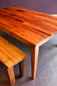 reclaimed oak table top rustic dining table with cherry table top and reclaimed oak table