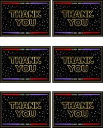 wars thank you cards the blackberry vine thankful i am aka wars thank you notes