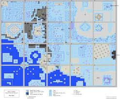 castle green floor plan might u0026 magic secret of the inner sanctum overworld map for nes