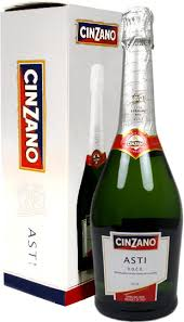 cinzano asti sparkling wine cinzano asti spumante docg gift box with 2