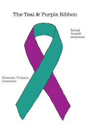 teal ribbon the teal and purple ribbon by ryu ren on deviantart