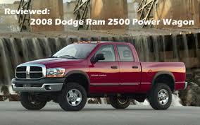 2008 dodge ram 3500 reviews pickuptrucks com review 2008 dodge ram 2500 power wagon