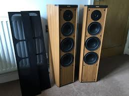 jamo home theater system jamo classic 8 floor standing tower speakers in teignmouth